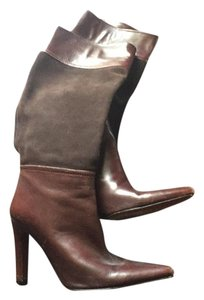 Vero Cuoio Brown suede and leather Boots