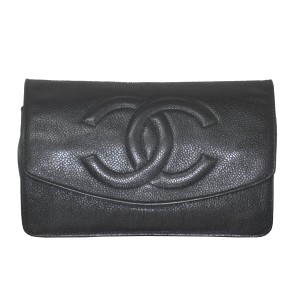 Chanel Vintage Woc Leather Shoulder Bag