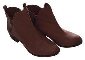 Lucky Brand Toffee leather Boots