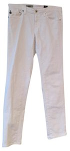AG Adriano Goldschmied Skinny Pants White Jean