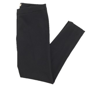 MICHAEL Michael Kors Fitted Skinny Trouser Fall Straight Pants BLACK