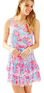 Lilly Pulitzer short dress Pink Sun Ray on Tradesy
