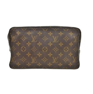 Louis Vuitton Trousse Toilette 28 Vintage Monogram Cosmetics Travel Makeup Bag