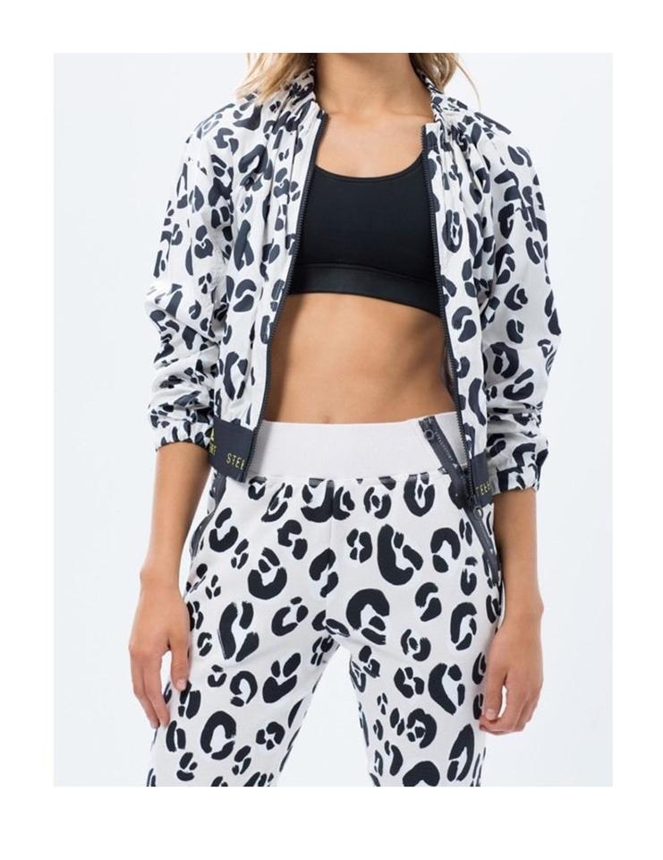 Det bästa många fashionabla bästa sneakers adidas By Stella McCartney Black/White Stellasport Graphic Jacket ...