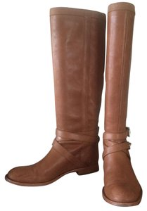 Coach Vintage Leather Riding Boot Caramel Boots