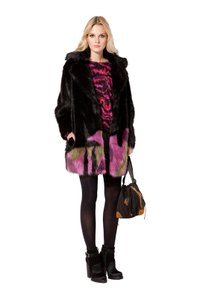 Custo Barcelona Faux Fur Animal Friendly Fur Coat