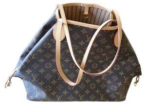 Louis Vuitton Neverfull Gm Monogram Canvas Lv Made In France Tote in Brown Monogram