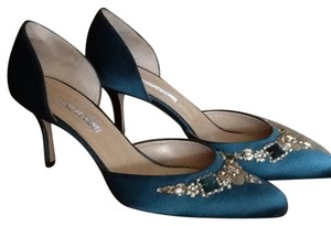 Oscar de la Renta Teal Formal