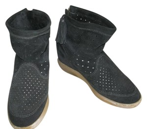 Isabel Marant Wedge BLACK Boots