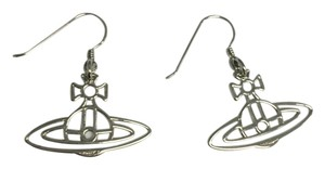 Vivienne Westwood VW Logo Silver Earrings