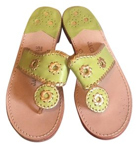 Jack Rogers Lime Green Sandals