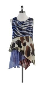 Wunderkind short dress Multi Color Layered Silk on Tradesy