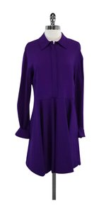 Stella McCartney short dress Violet Collared Button Down on Tradesy