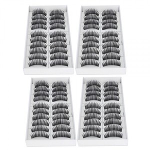 Other 40 Pairs of High Quality Handmade Synthetic False Eyelashes F004