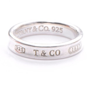 Tiffany & Co. TIFFANY AND CO 1837 STERLING SILVER RING