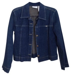 Liz Claiborne Denim Womens Jean Jacket