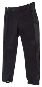 AMS Pure Ams Ankle Stirrup Trouser Pants Gray
