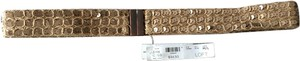 Ann Taylor LOFT Gold Sequin Belt - Size Medium/Large