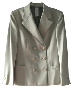 Versace Double Breasted Green Buttons Mint Green Blazer