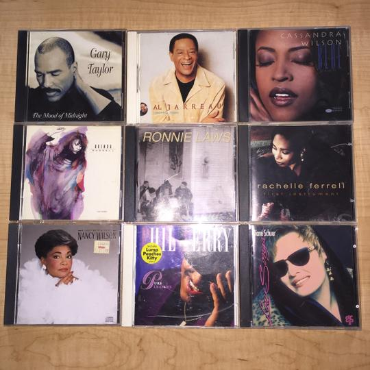 Other Vocal Jazz Masters 9- CD Set; Nancy Wilson, Rachelle Ferrell, Cassandra Wilson, Phil Perry, Ronnie Laws, Al Jarreau, Gary Taylor, Diane Schuur and Brenda Russell [ SisterSoul Closet ]