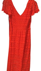 Red Maxi Dress by bebe