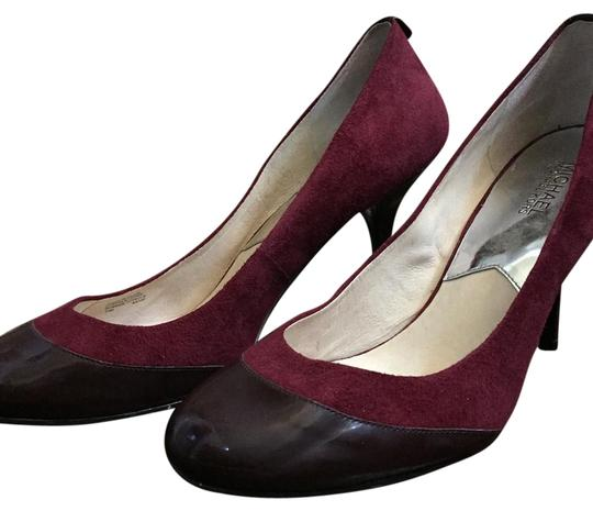 Preload https://item3.tradesy.com/images/michael-michael-kors-burgundy-round-pumps-size-us-12-regular-m-b-19477377-0-2.jpg?width=440&height=440