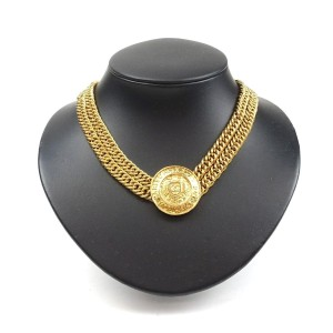 Chanel Chanel Cambon 31 Gold Double Chain Necklace