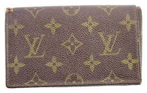 Louis Vuitton Monogram Snap Wallet 49LVA912