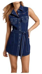 True Religion short dress BLUE on Tradesy