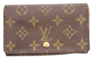 Louis Vuitton Monogram Snap Wallet 50LVA912