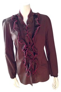 Tasha Polizzi Top Brown