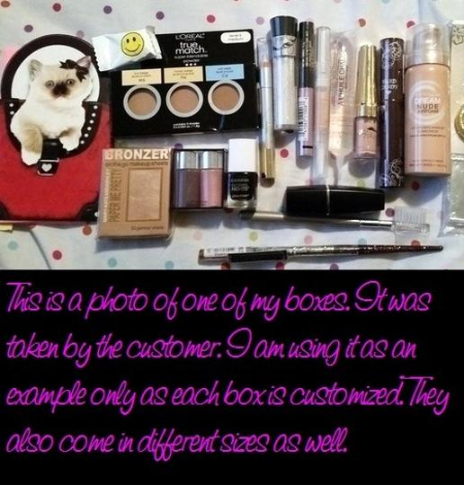 Other Beauty Bundle Makeup Box - Customized Mystery Style - 15+ Items
