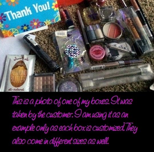 Other Beauty Bundle Makeup Box - Customized Mystery Style - 7+ Items