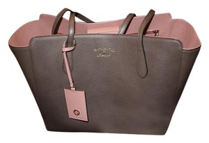 Gucci Tote in Taupe, Pink
