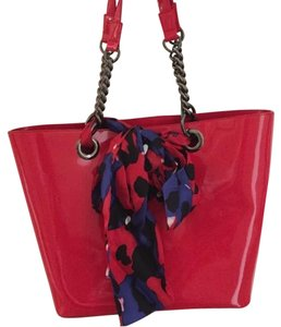 DKNY Tote in Red