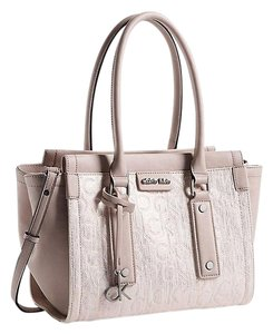 Calvin Klein Handbag Pink Tote in blush metallic