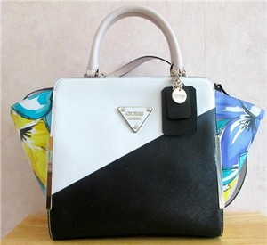 Guess Satchel in Black Multi