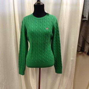 Lilly Pulitzer Crew Neck Cable Knit Sweater