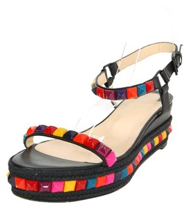 Christian Louboutin Multi Color Studded Sandals