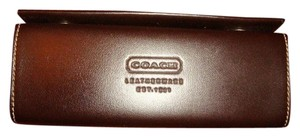 Coach Coach Leather Sunglass Case