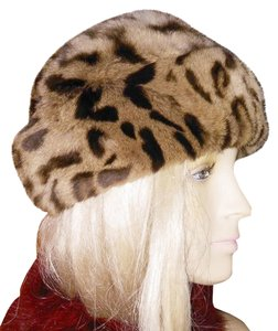 Other SALE* RARE VINTAGE GENUINE OCELOT FUR HAT