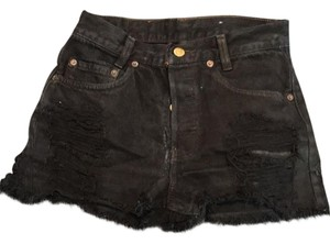 Levi's Cut Off Shorts Black