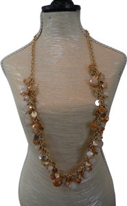 Gold and Light Pink Necklace