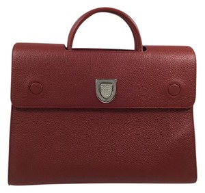 Dior Satchel in Indian Red