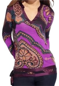 Desigual T Shirt Purple