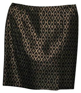 The Limited Skirt Gold, Black