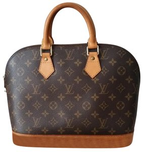 Louis Vuitton Neverfull Speedy 30 Selema Satchel in Monogram
