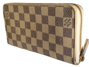 Louis Vuitton Zippy Wallet Damier Azur