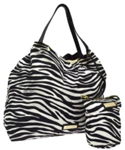 Jimmy Choo Tote in Black White
