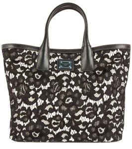Dolce&Gabbana Tote in Black & White